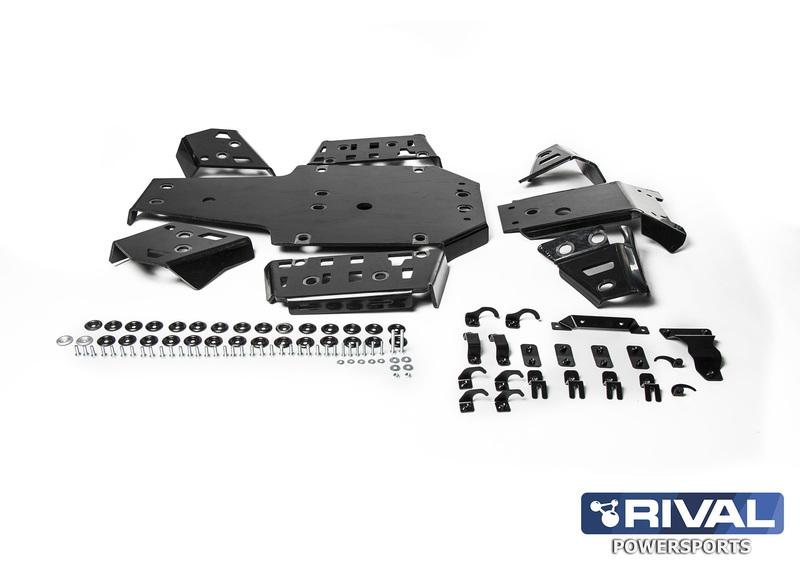 Kit sabot complet RIVAL - aluminium Yamaha Grizzly 700
