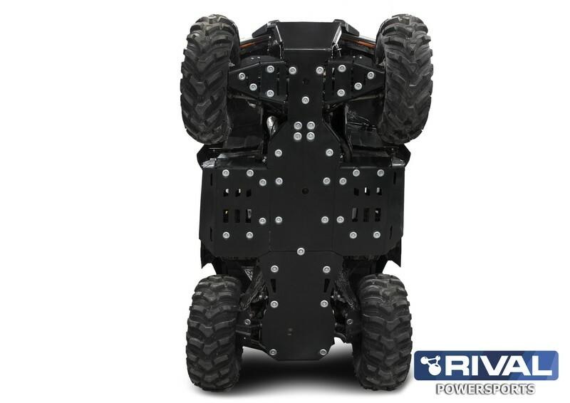 Sabot complet RIVAL - plastique 10mm Can-Am Outlander