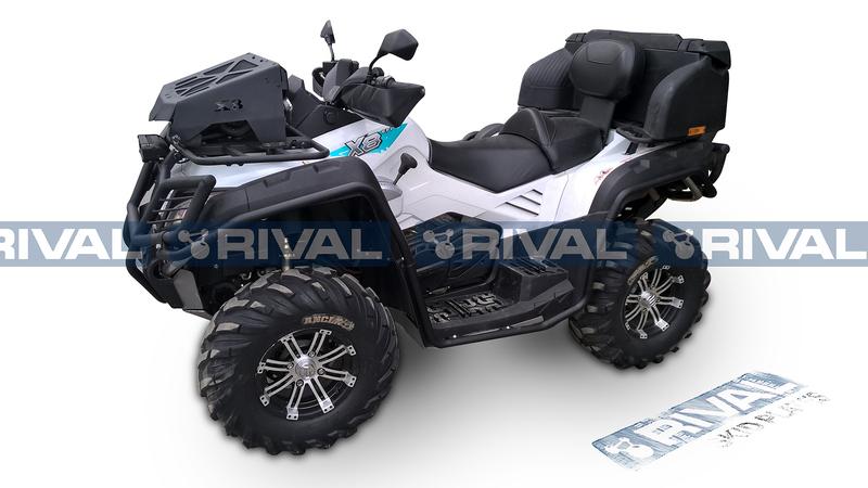 Protection latérales RIVAL - aluminium CF Moto Cforce 800