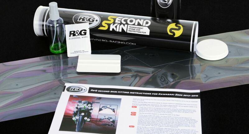 Seconde peau R&G RACING transparent Kawasaki Versys 1000