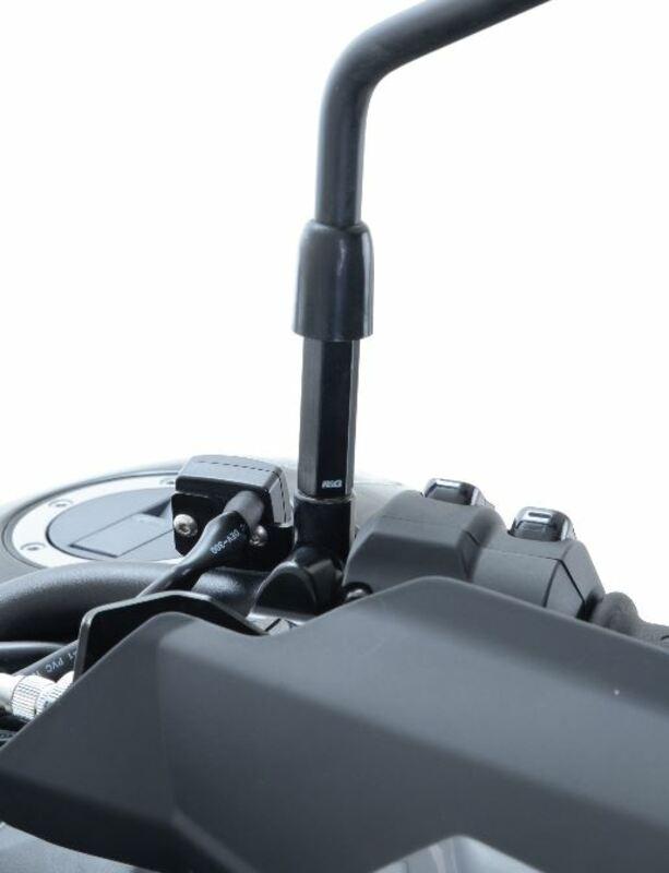 Réhausses de rétroviseur R&G RACING Imperial 1/2-20 UNF noir