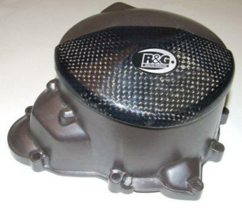 Slider moteur gauche R&G RACING carbone  Yamaha XJ6 N/S Diversion
