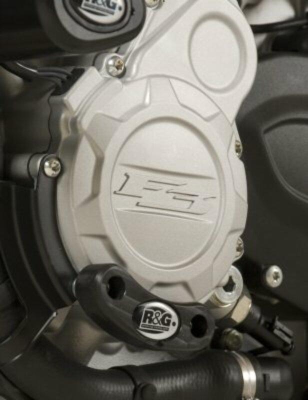 Slider moteur gauche R&G RACING noir MV Agusta
