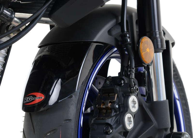 Extension de garde-boue avant R&G RACING noir Yamaha MT-10