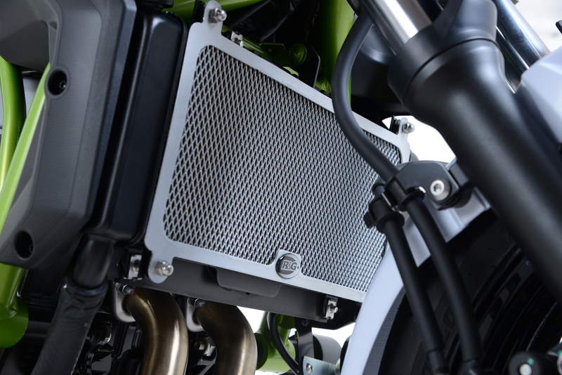 Protection de radiateur R&G RACING inox - Kawasaki Z650