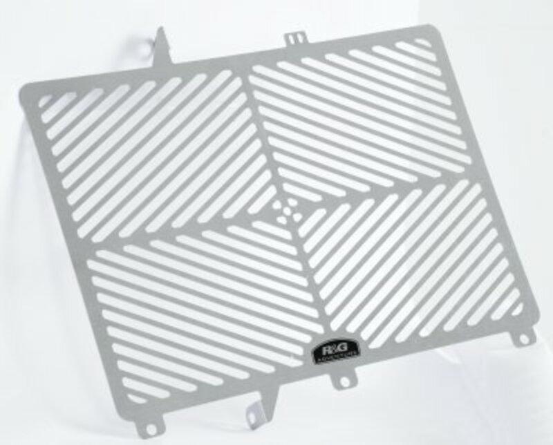 Protection de radiateur R&G RACING inox - Kawasaki ER6-N/F