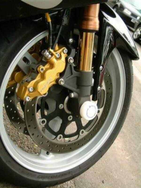 Protection de fourche R&G RACING pour GSXR600 750 '96-01, 1000 '01, GSX1300R, TL1000S, R