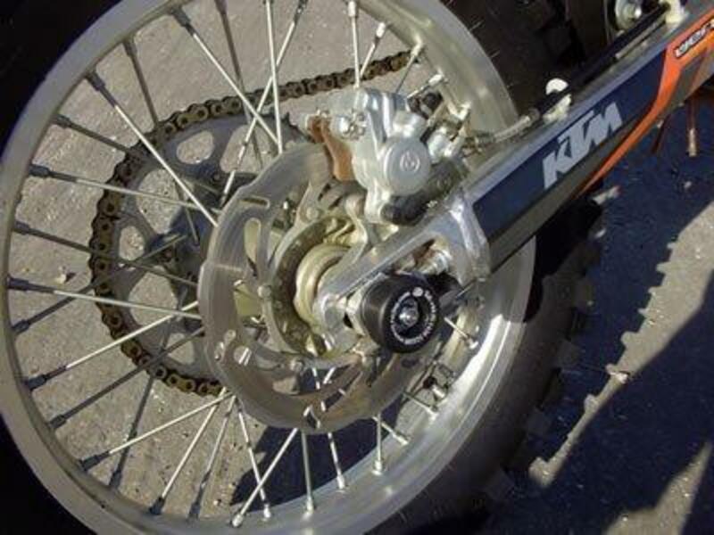 Protection de bras oscillant R&G RACING noir KTM