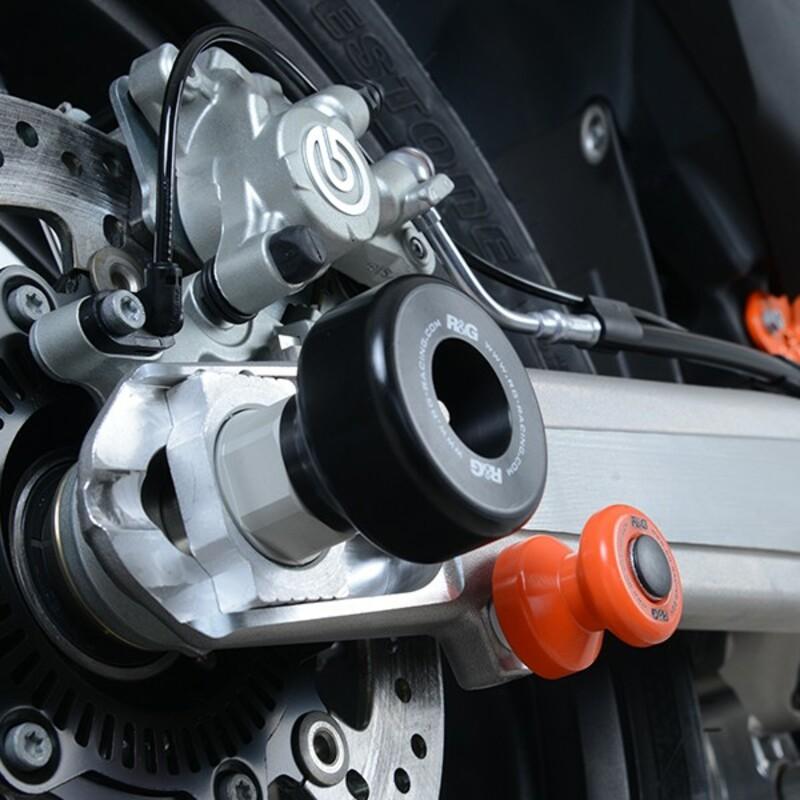 Protection de bras oscillant R&G RACING noir KTM 690 SMC-R