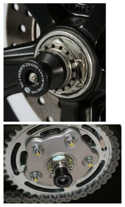 Protection de bras oscillant R&G RACING noir Ducati