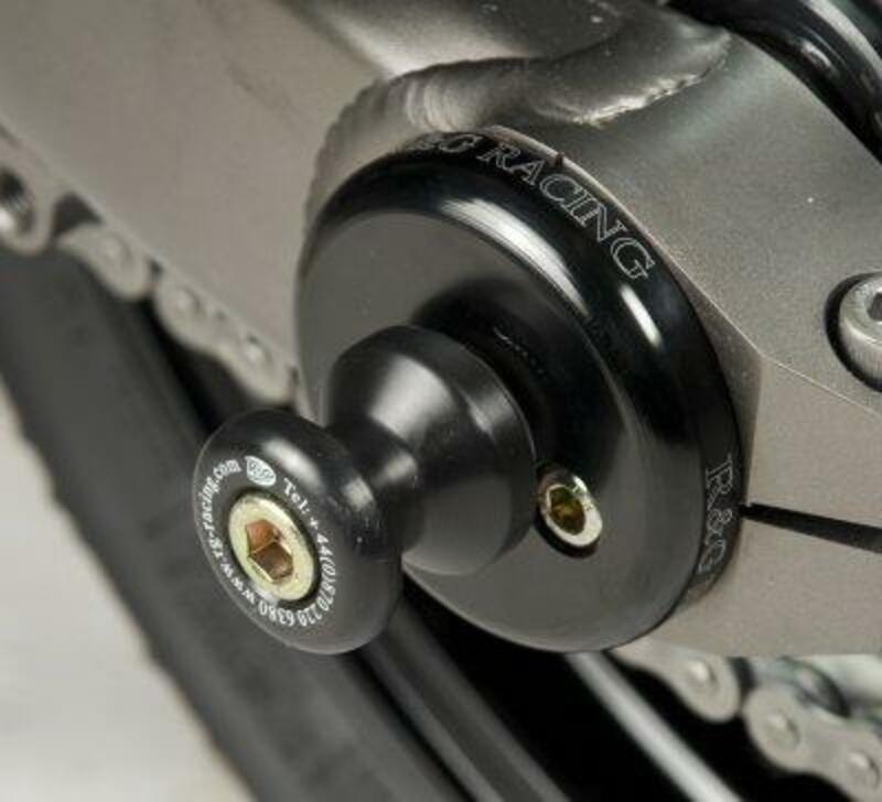 Protection de bras oscillant R&G RACING noir Kawasaki Z1000/SX