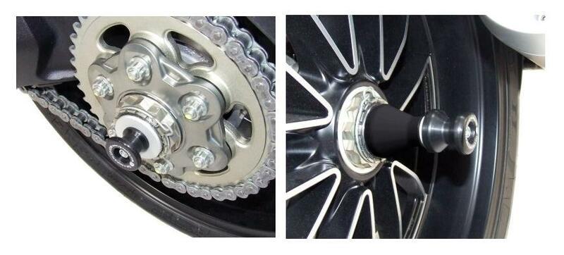Protection de bras oscillant R&G RACING noir Ducati Diavel/XDiavel/S / 1200 Diavel Strada