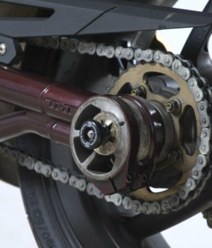 Protection de bras oscillant R&G RACING noir Benelli TNT 1130 Cafe Racer
