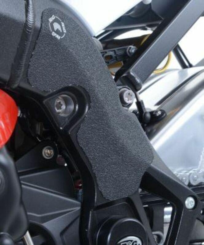 Adhésif anti-frottement R&G RACING cadre noir 2 pièces BMW S 1000 RR
