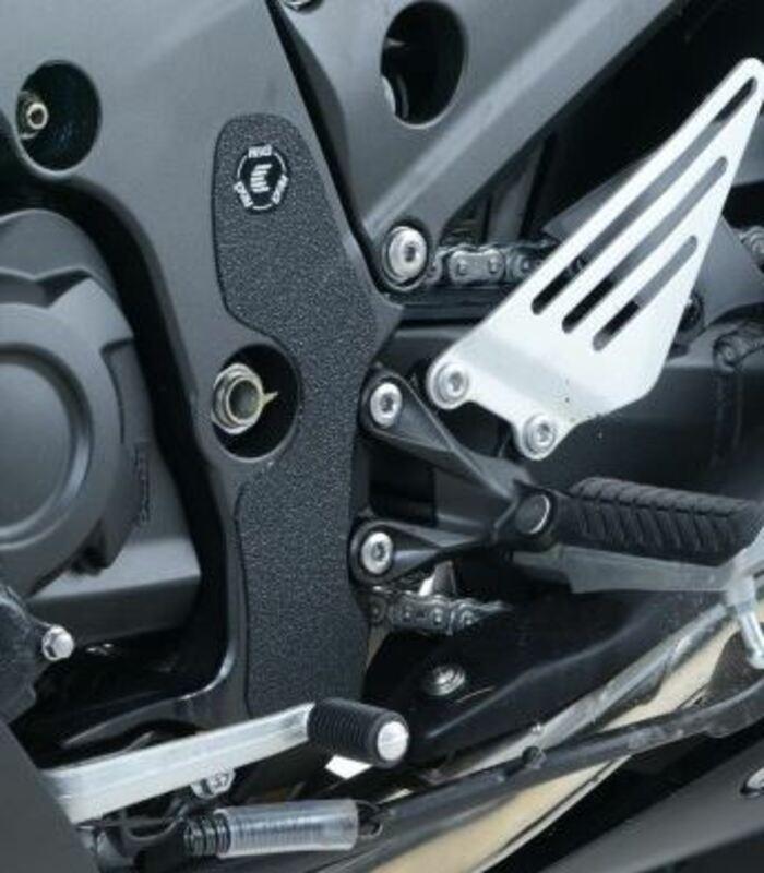 Adhésif anti-frottement R&G RACING cadre noir 2 pièces Kawasaki ZZR1400