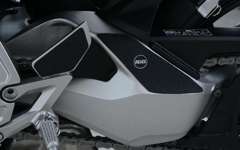 Kit protection de cadre R&G RACING noir (3 pièces) Honda CB1000R Neo Sport Cafe