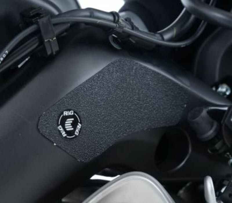 Adhésif anti-frottement R&G RACING bras oscillant noir (3 pièces) Yamaha YZF-R6