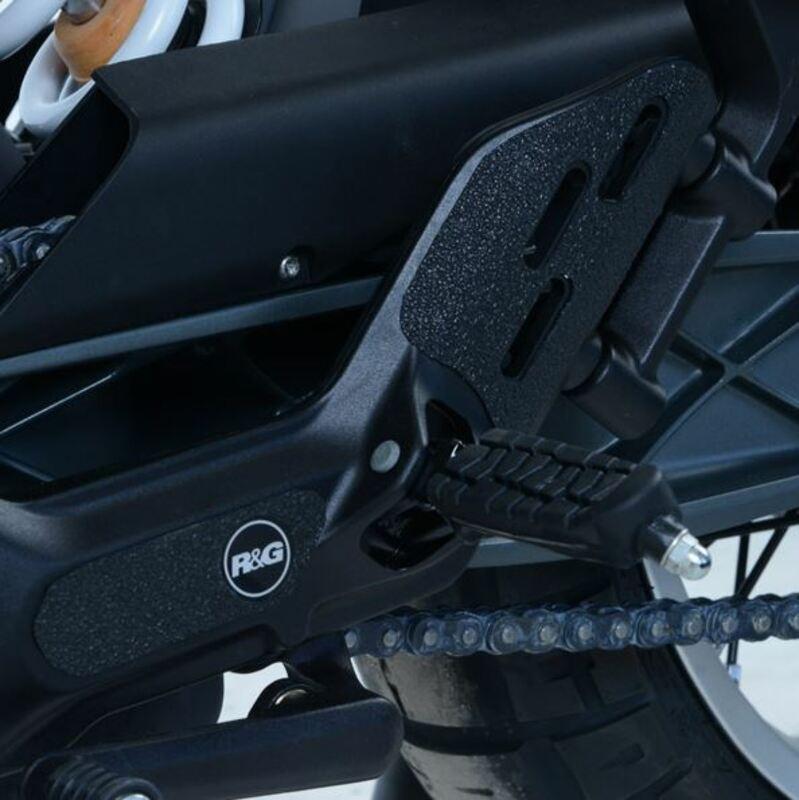 Kit protection de cadre R&G RACING noir (4 pièces) Husqvarna Vitpilen 401