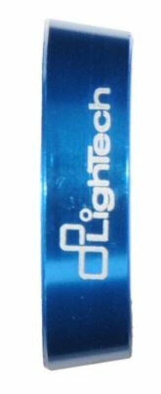 Bagues d'embout de guidon Lightech bleu