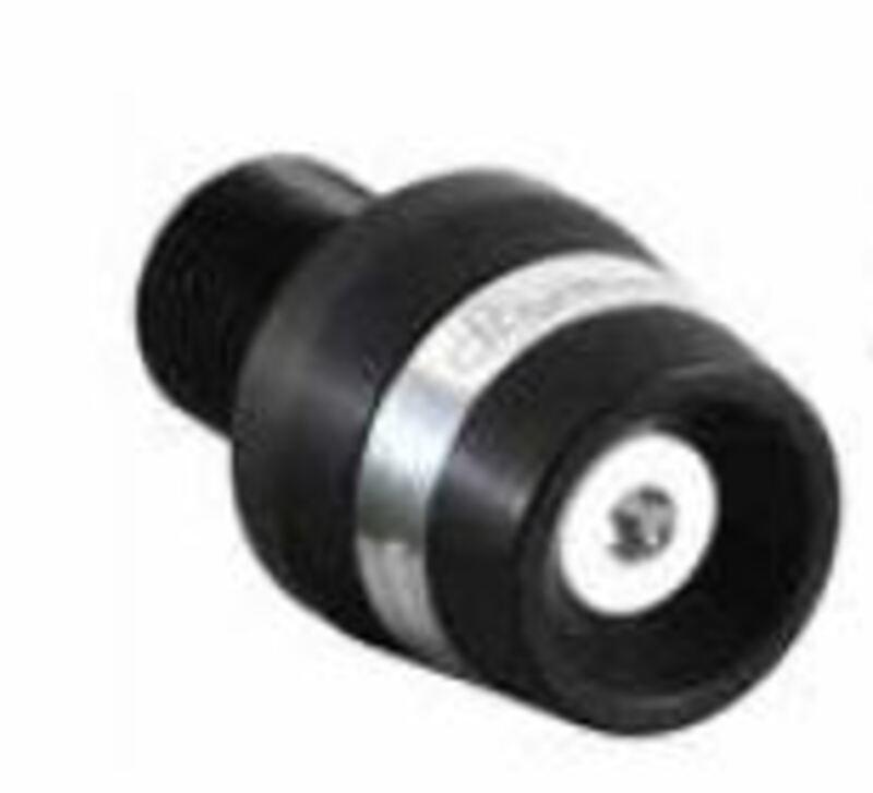 Embouts de guidon Lightech black series alu noir Aprilia RSV 1000