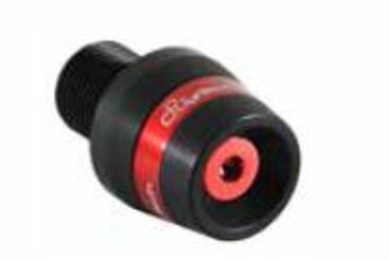 Embouts de guidon Lightech devil series alu rouge Aprilia RSV 1000