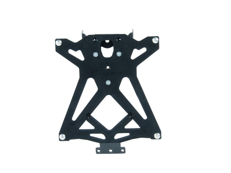 Support de plaque LIGHTECH noir Ducati Monster 797/1200R/S