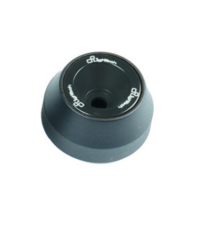 Protections fourche et bras oscillant (axe de roue) LIGHTECH noir Ducati Monster 1100 - ARDU102NER