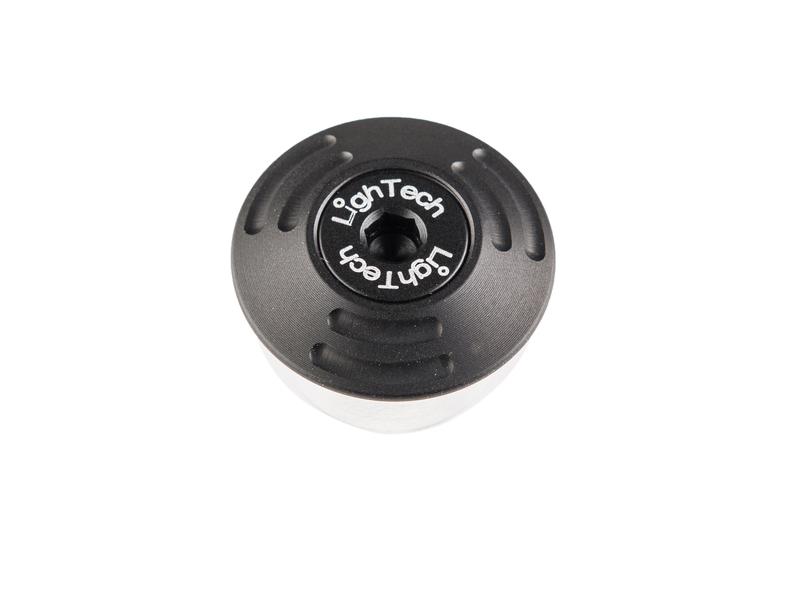 Protection axe de roue LIGHTECH Ø extérieur 28 - Ø intérieur 22-23,5 noir