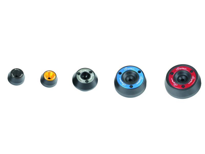Protections fourche et bras oscillant (axe de roue) LIGHTECH or Suzuki GSX-R1000