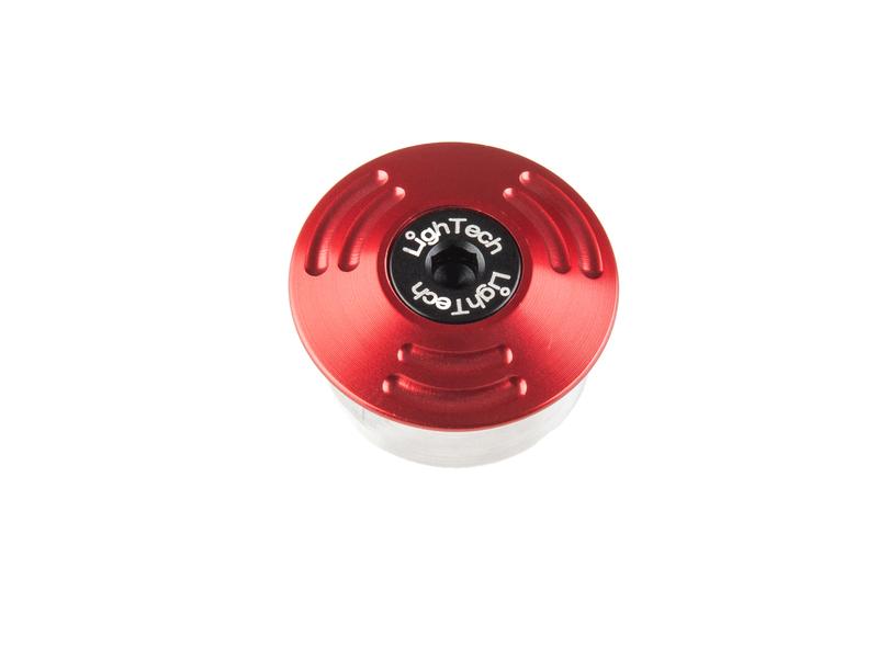 Protection axe de roue LIGHTECH Ø extérieur 33 - Ø intérieur 28-29,5 rouge