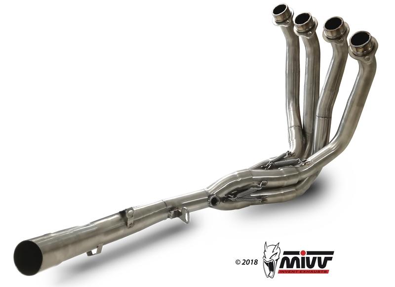 Décatalyseur MIVV inox Kawasaki Z900RS