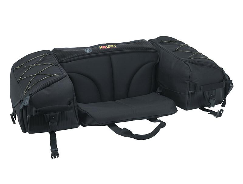 Coffre souple arrière KOLPIN Matrix SeatBag quad noir 57L