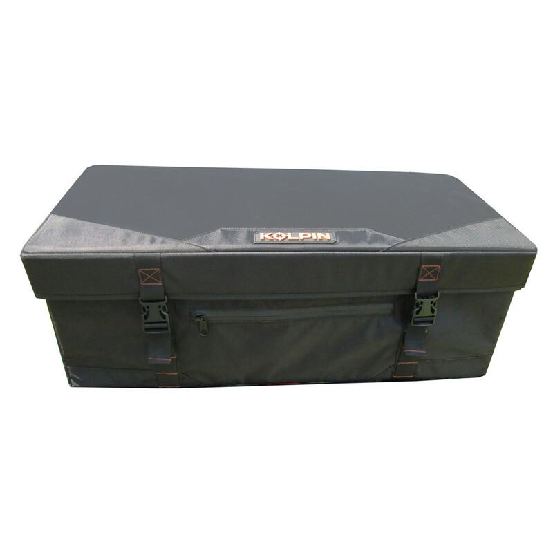 Coffre semi-rigide KOLPIN ATV/UTV noir 80L