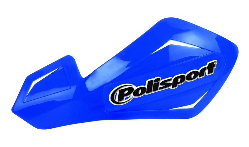 Protège-mains universel Polisport Freeflow Lite bleu Yamaha fix. alu
