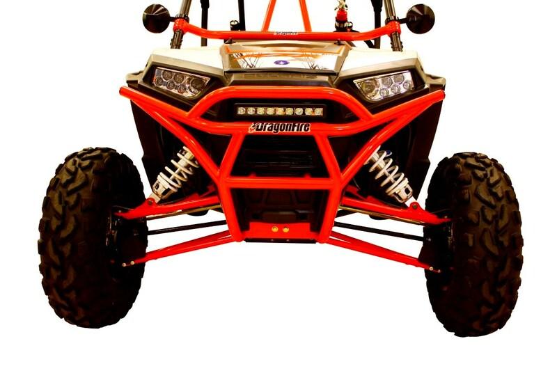 Bumper avant DRAGONFIRE RacePace acier - Polaris