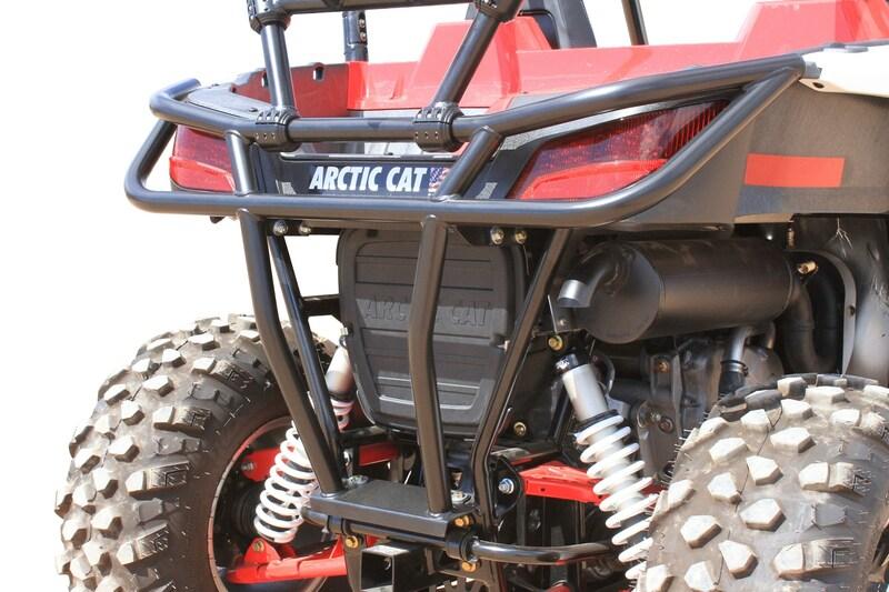 Bumper arrière DRAGONFIRE RacePace acier - Arctic Cat Wildcat