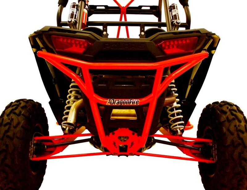 Bumper arrière DRAGONFIRE RacePace acier - Polaris RZR1000