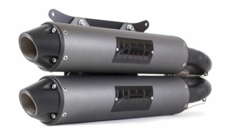 Silencieux HMF Performance Series - Inox brossé Inox GRIZZLY 550-700
