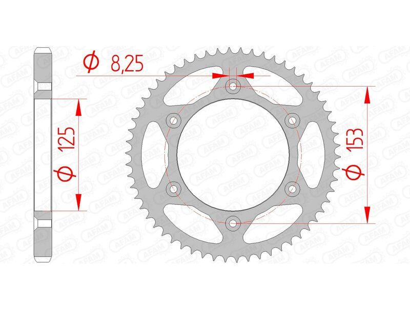 Couronne AFAM acier standard 10228 - 428