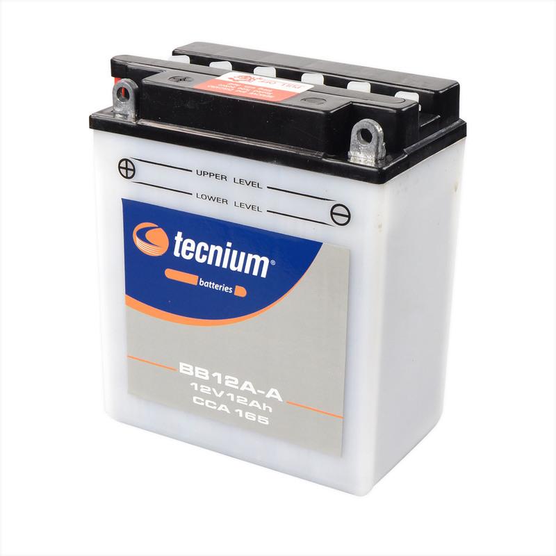 Batterie TECNIUM conventionnelle avec pack acide - BB12A-A