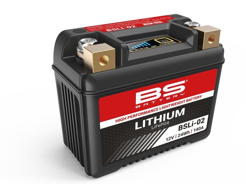 Batterie BS BATTERY Lithium-Ion - BSLI-02 (LFPX7L)