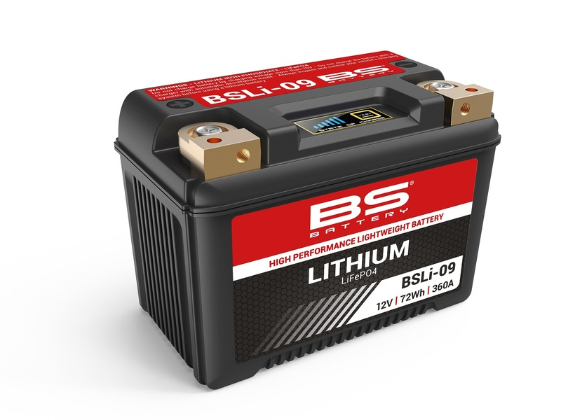 Batterie BS BATTERY Lithium-Ion - BSLI-09 (LFPX20CH)
