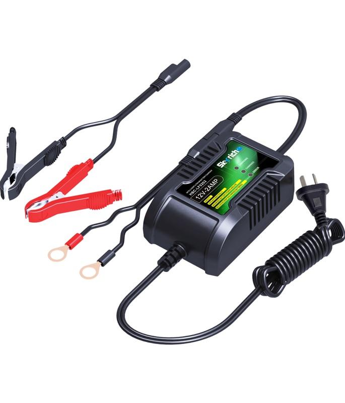 Chargeur de batterie SKYRICH 12V 2Ah