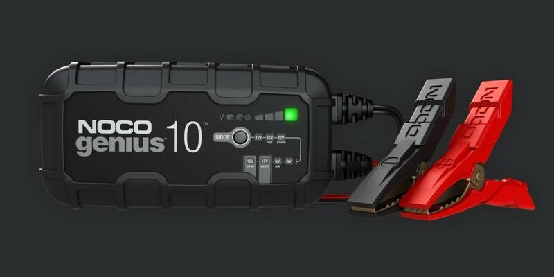Chargeur de batterie intelligent NOCO Genius 6/12V 10A