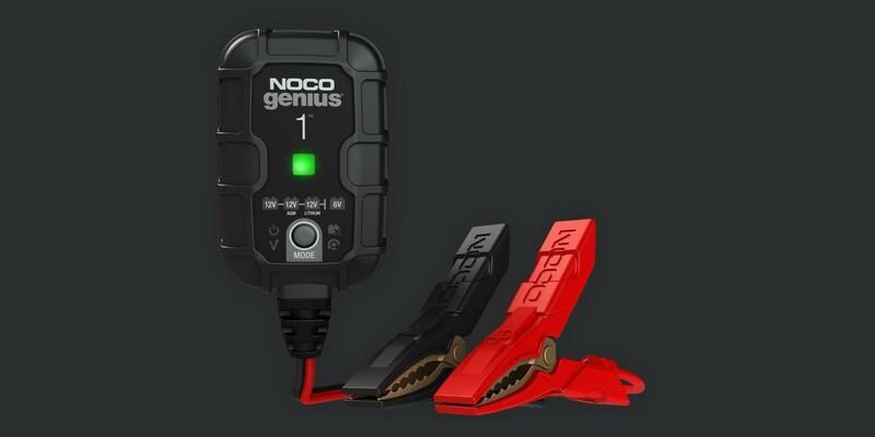 Chargeur de batterie intelligent NOCO Genius 6/12V 1A