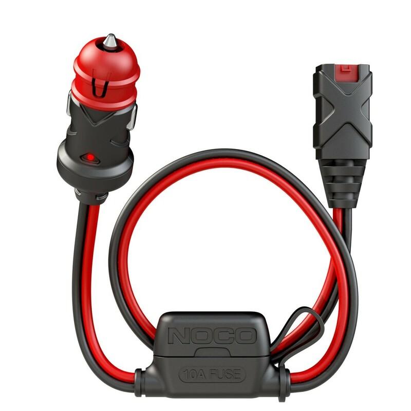 Câble chargeur de batterie 12V Dual-Size Male Plug allume-cigare 60cm NOCO X-Connect 12V