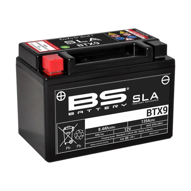 Batterie BS BATTERY SLA sans entretien activé usine - BTX9