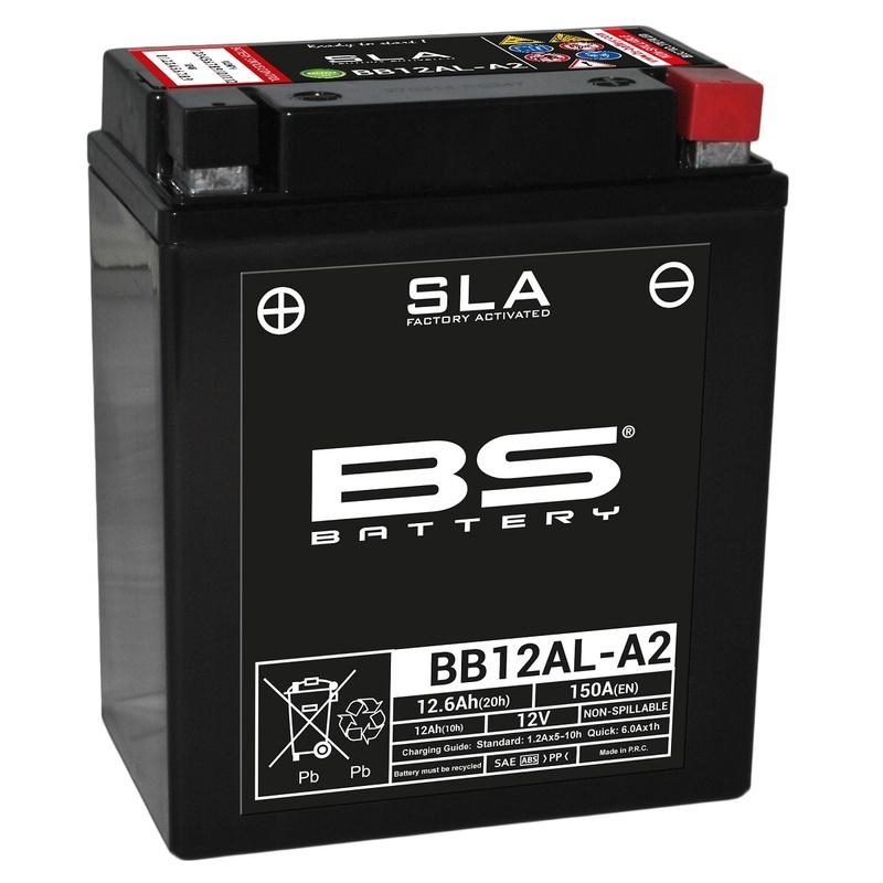 Batterie BS BATTERY SLA sans entretien activé usine - BB12AL-A2
