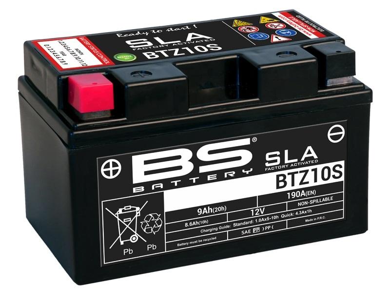 Batterie BS BATTERY SLA sans entretien activé usine - BTZ10S