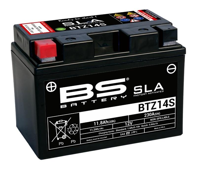 Batterie BS BATTERY SLA sans entretien activé usine - BTZ14S